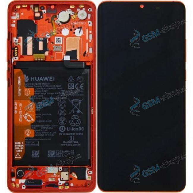 LCD Huawei P30 Pro a dotyk s krytom Amber Sunrise Originál