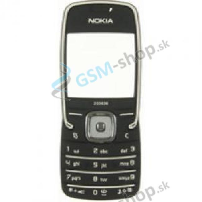 Sklíčko Nokia 5500 čierne a klávesnica Originál