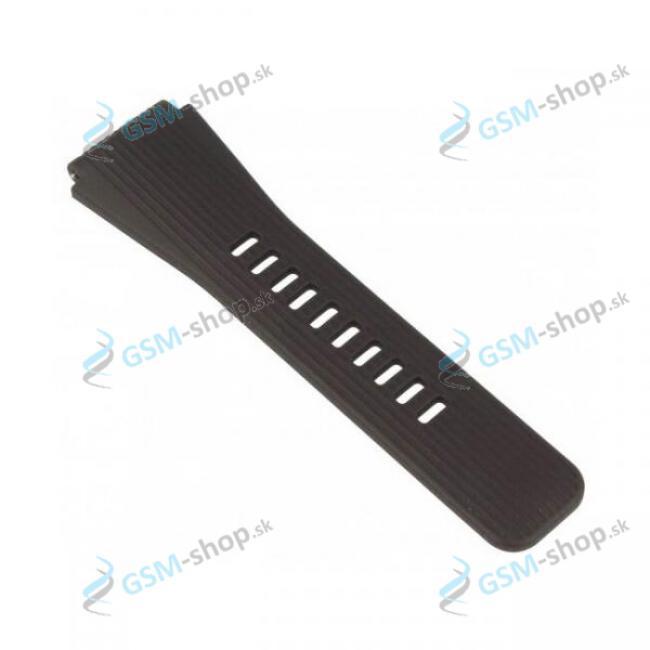 Remienok Samsung Galaxy Watch 46mm (R800, R805) s dierkami čierny - veľkosť S Originál