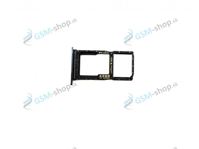 Sim držiak Huawei P Smart Z, Honor 9X čierny Originál