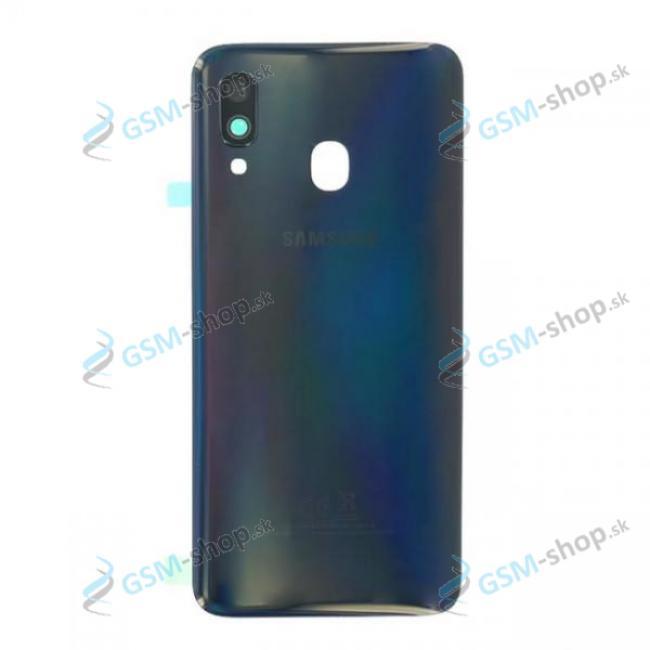 Kryt Samsung Galaxy A40 A405 batérie čierny Originál