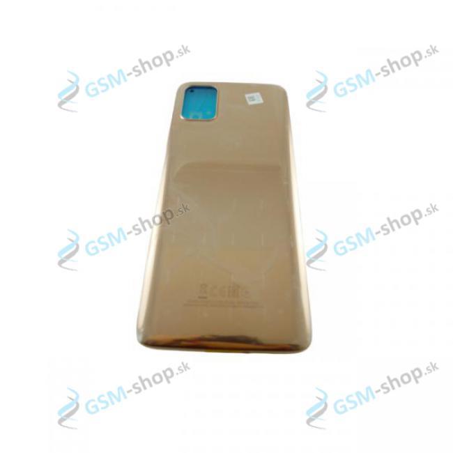 Kryt Motorola Moto G9 Plus (XT2087) zadný zlatý Originál