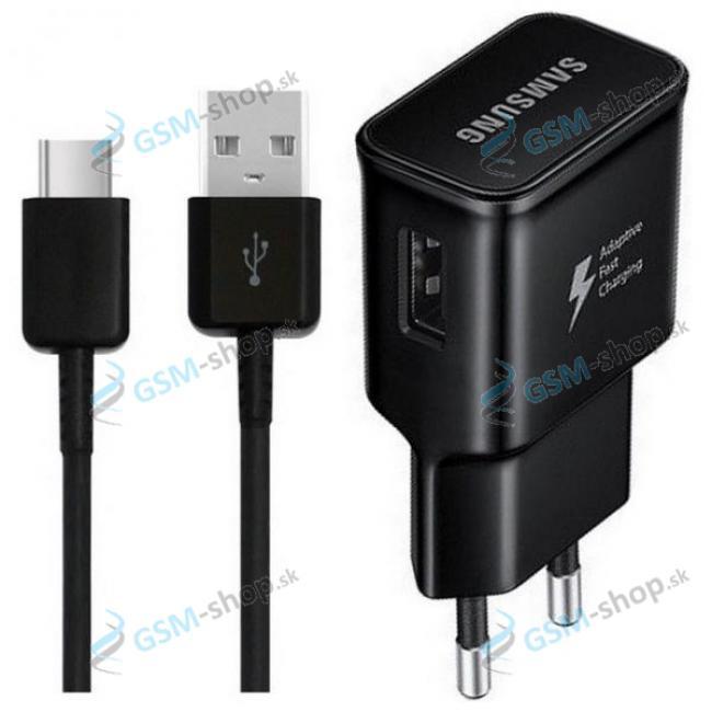 Nabíjačka Samsung USB Typ C EP-TA20EBE čierna Originál neblister