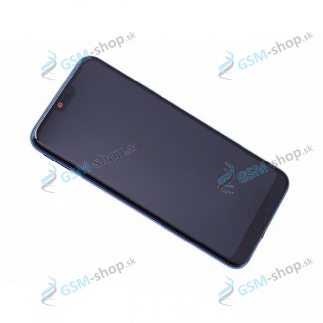 LCD Huawei Honor 10 a dotyk s krytom modrým Originál