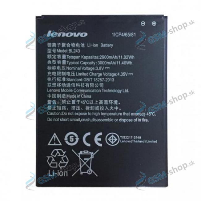 Batéria pre Lenovo A7000 BL243 Originál