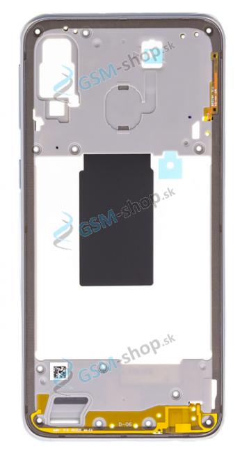 Stred Samsung Galaxy A40 (A405F) biely Originál