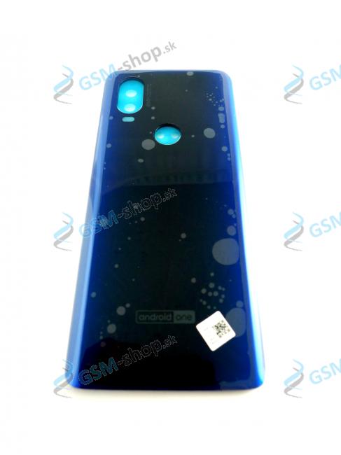 Kryt Lenovo Motorola One Vision XT1970 zadný modrý Originál