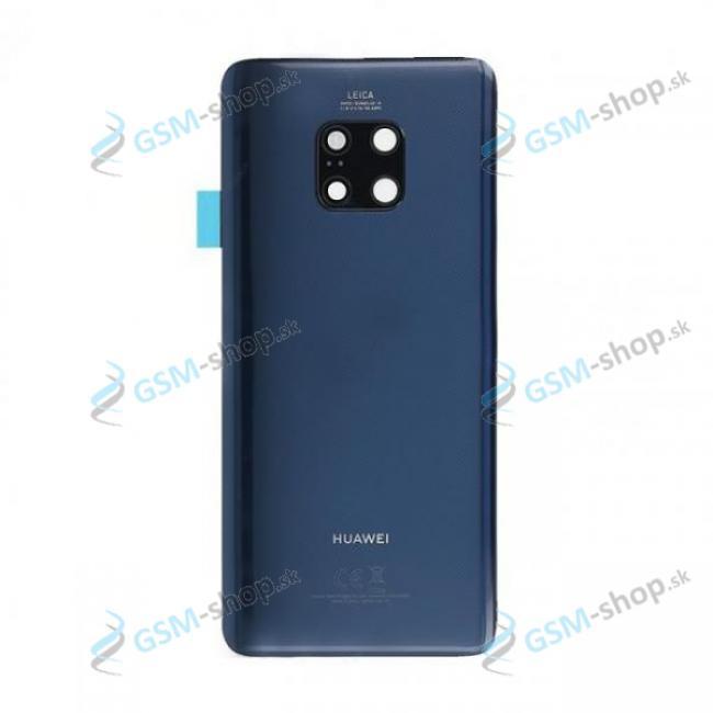 Kryt Huawei Mate 20 Pro batérie zadný modrý Originál