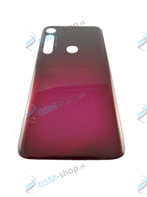 Kryt Lenovo Motorola G8 Plus (XT2019) zadný červený Originál