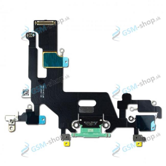 Flex Apple iPhone 11 pre nabíjanie zelený Originál