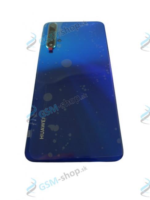 Kryt Huawei Nova 5T batérie zadný modrý Originál