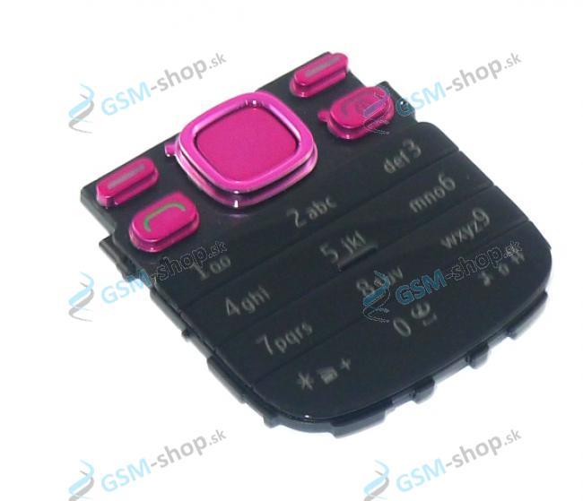 Klávesnica Nokia 2690 ružová Originál