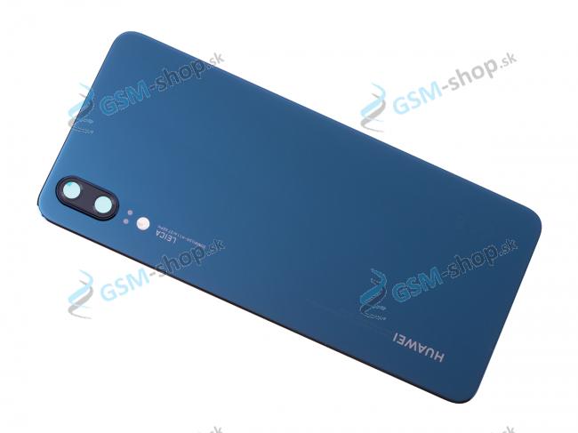 Kryt Huawei P20 zadný modrý Originál