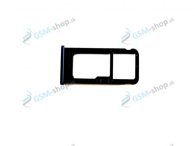 Sim držiak Nokia 6.1 Dual Sim modrý Originál