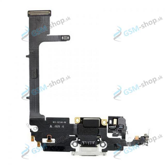 Flex Apple iPhone 11 Pro pre nabíjanie strieborný Originál