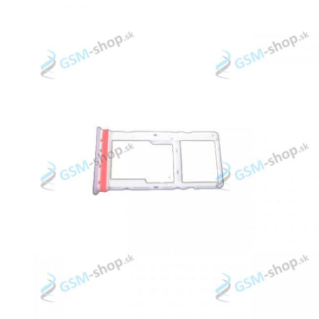 Sim a SD držiak Motorola Moto G10 (XT2127) biely Originál