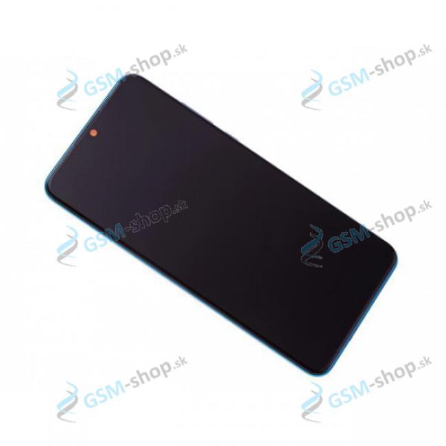 LCD Huawei P30 Lite a dotyk s krytom modrým Originál