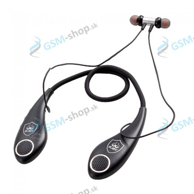 Bluetooth slúchadlá pre šport a hry GJBY CA-129 čierne