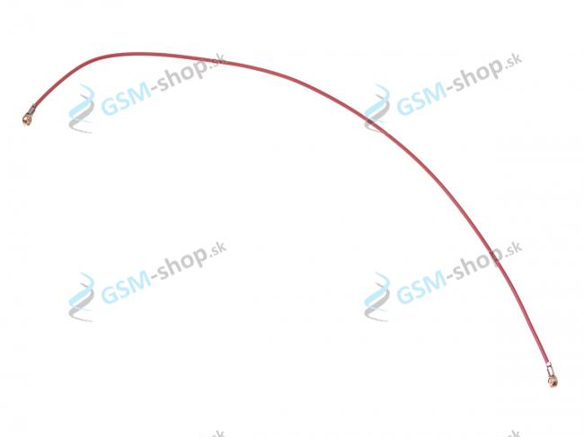 Koaxiálny káblik 123,5 mm Samsung Galaxy S20 FE (G780) červený Originál