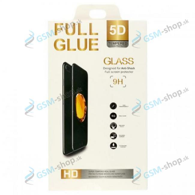Tvrdené sklo Huawei P30 celý displej 5D FULL GLUE čierne