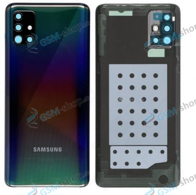 Kryt Samsung Galaxy A51 (A515) batérie čierny Originál