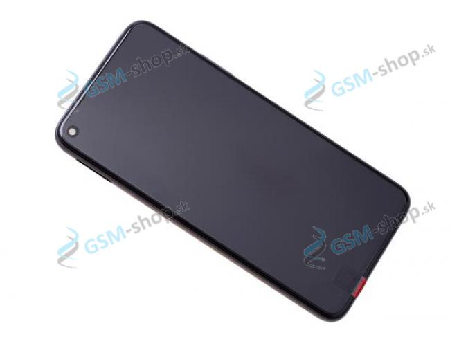 LCD displej Huawei Honor 20, Nova 5T a dotyk s krytom čiernym Originál