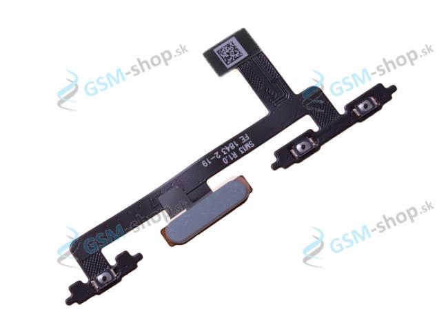 Flex Sony Xperia 10 a snímač odtlačku prsta čierny Originál
