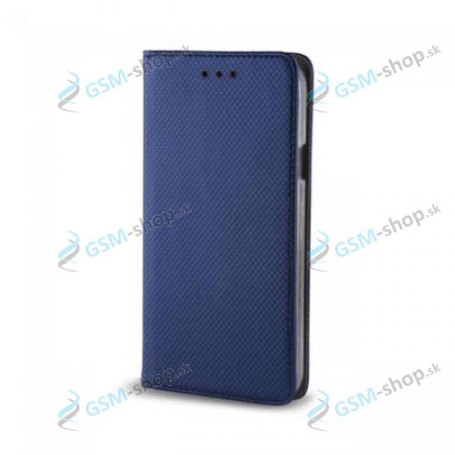 Púzdro iPhone 11 Pro knižka magnetická modrá