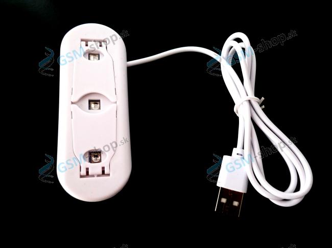 UV lampa prenosná biela