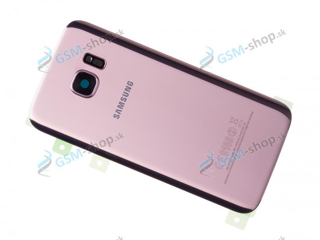 Kryt Samsung Galaxy S7 G930F batérie ružový Originál
