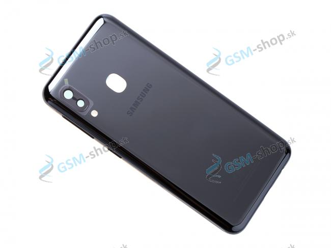 Kryt Samsung Galaxy A20E A202 batérie čierny Originál