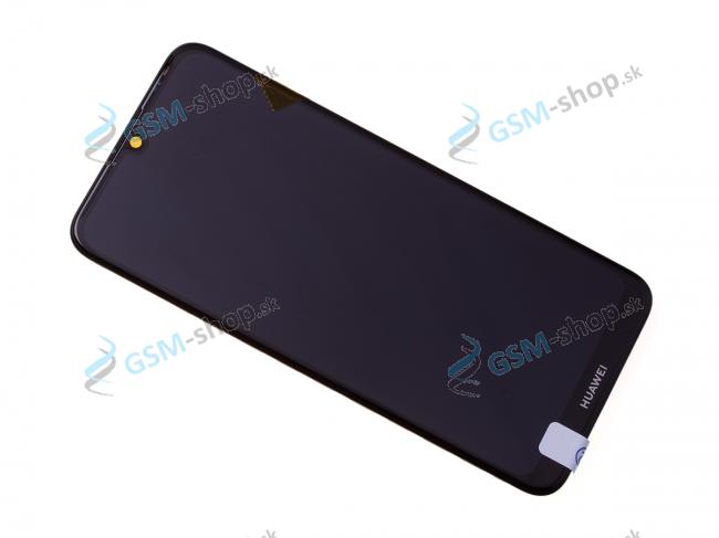 LCD displej Huawei Y6 2019 a dotyk s krytom čiernym Originál