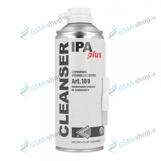 Sprej Isopropyl alkohol s kefkou IPA Plus 400 ml