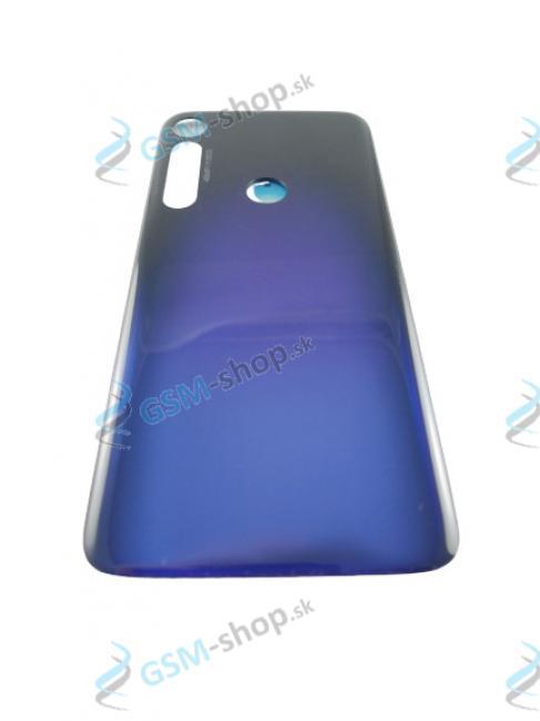 Kryt Lenovo Motorola G8 Plus (XT2019) zadný modrý Originál