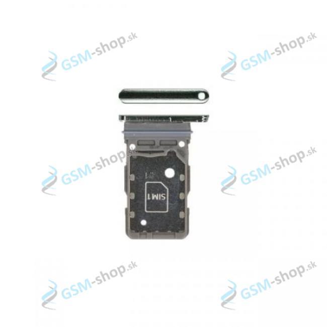 Dual SIM držiak Samsung Galaxy S21 5G (G991B) šedý Originál