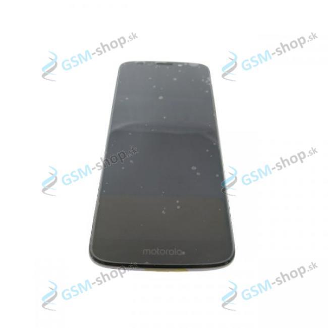 LCD displej Motorola Moto E5 (XT1944) a dotyk s krytom čiernym Originál