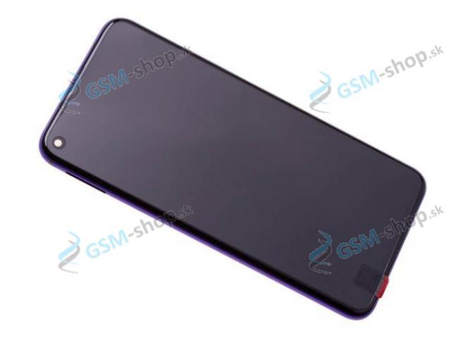 LCD displej Nova 5T a dotyk s krytom fialovým Originál
