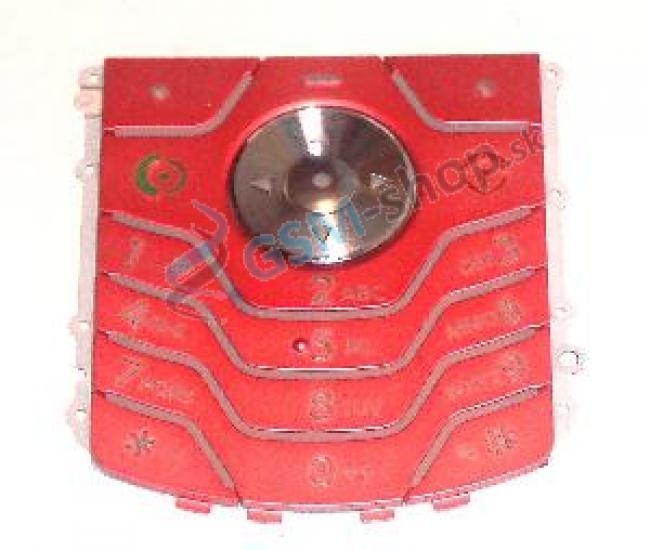 Klávesnica Motorola L6 ružová Originál