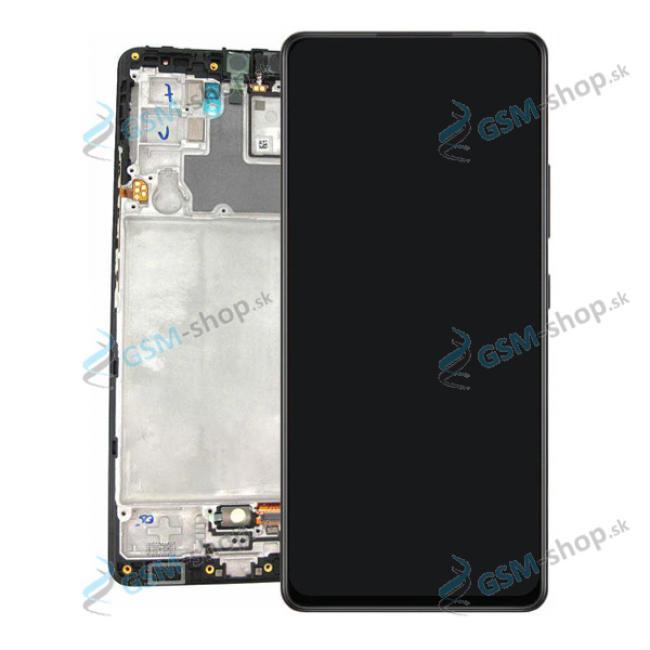 LCD displej Samsung Galaxy A42 5G (A426) a dotyk čierny s krytom Originál