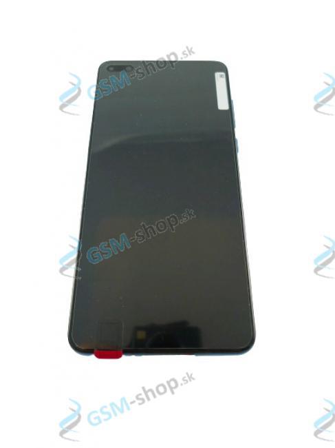 LCD Huawei P40 a dotyk s krytom modrým Originál