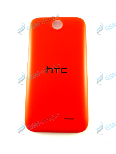 Kryt HTC Desire 310 batérie oranžový Originál