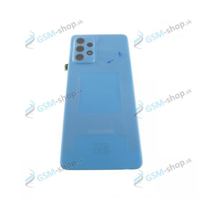 Kryt Samsung Galaxy A52, A52 5G batérie modrý Originál