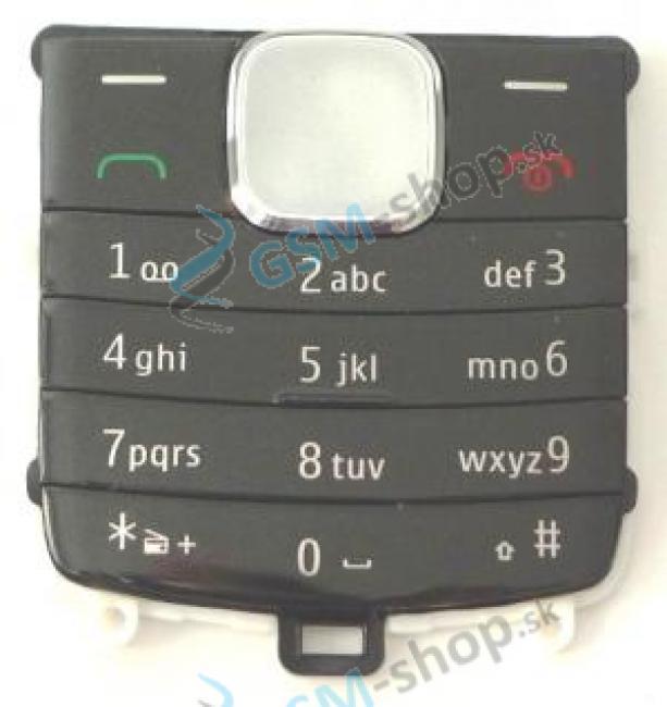 Klávesnica Nokia 1800 čierna Originál