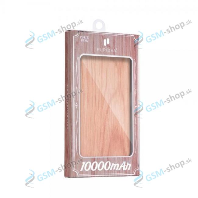 Powerbank PURIDEA S2 10 000 mAh Wood