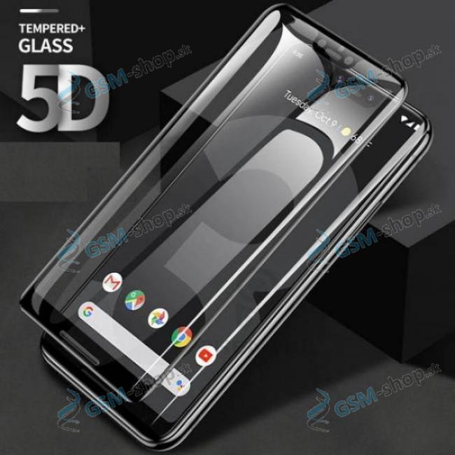 Tvrdené sklo Google Pixel 3A XL 5D Plus čierne