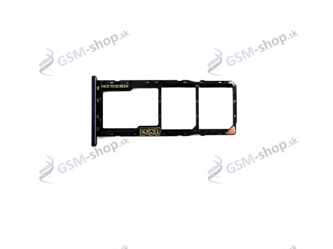 Sim a SD držiak Motorola Moto E6 Play (XT2029) čierny Originál