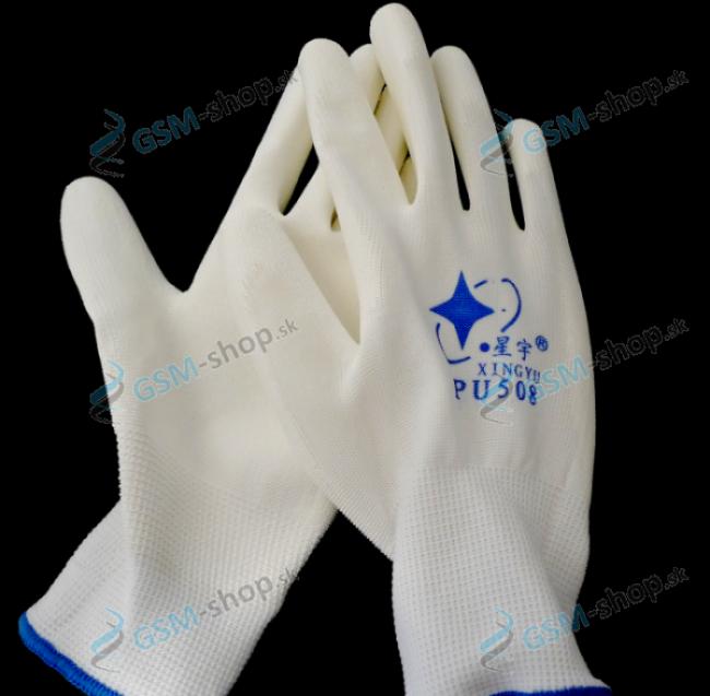 Antistatické pracovné rukavice PU508 ESD veľkosť L