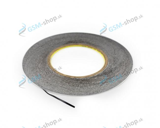 Obojstranná lepiaca páska 3M čierna 2 mm