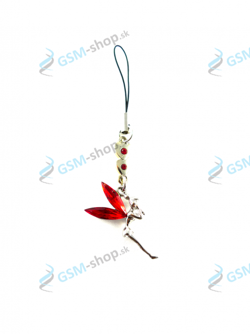 Prívesok Fairy - červený Light Siam