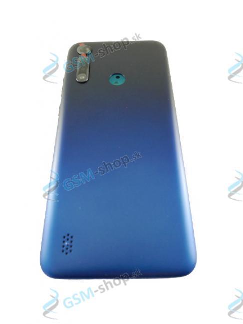 Kryt Lenovo Motorola G8 Power Lite (XT2055) zadný modrý Originál